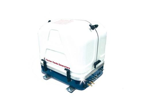 03.05.01.020P Generador Panda 8000i - Hasta 6,4 kW. 03.05.01.020P Generador Panda 8000i - Hasta 6,4 kW . Vista del frontal con la tapa cerrada