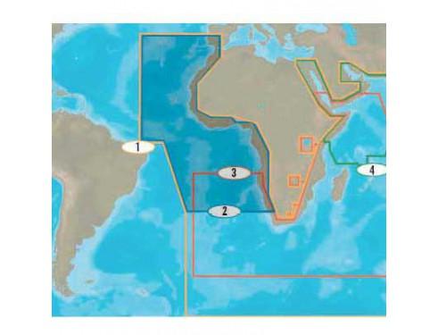 Cartografía C-MAP 4D MAX+ Wide - Norte y Oeste de África