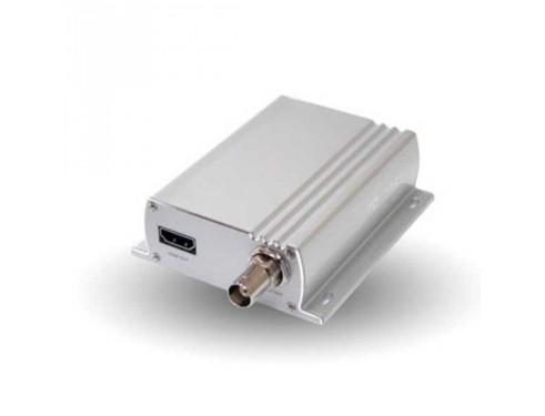 A80508 Decodificador IP a vídeo analógico. Decodifica la señal obtenida mediante una cámara IP y la transforma en una señal de vídeo analógico.