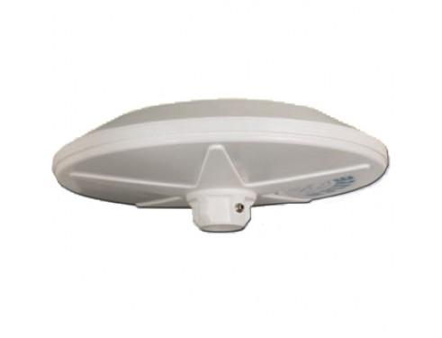 C-00350 Antena TV TDT/analógica, tipo cúpula, para uso náutico, de dispersión omniderccional