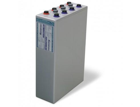 68002700 Vaso de gel MVSV de 2V-2700Ah. Ideal para sistemas fotovoltaicos aislados. Vista en perspectiva lateral