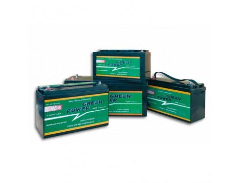 GP90 Batería AGM Green Power, 12V 90Ah. Batería de alto rendimiento y bajo nivel de auto-descarga, diseñada para una vida útil de más de 1200 ciclos