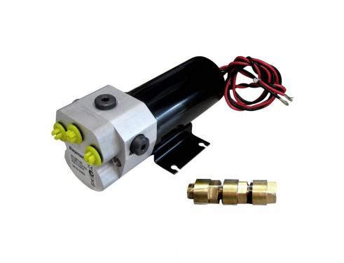 M81120 Unidad hidráulica Tipo 1, 12V. Adecuada para pistones hidráulicos de 80 cc a 230 cc de volumen.