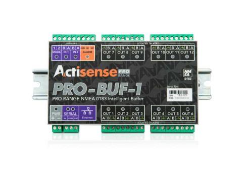 Buffer NMEA 0183 profesional, con 2 entradas Optoaisladas y 12 salidas ISO
