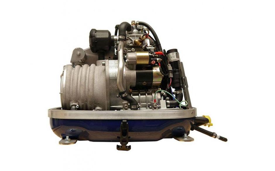 Generador Panda 4000s Neo, hasta 4kW. Vista frontal, sin tapa