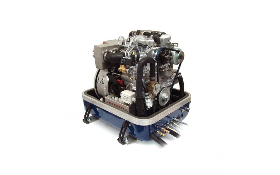 03.05.01.020P Generador Panda 8000i - Hasta 6,4 kW. Vista del frontalsin la tapa