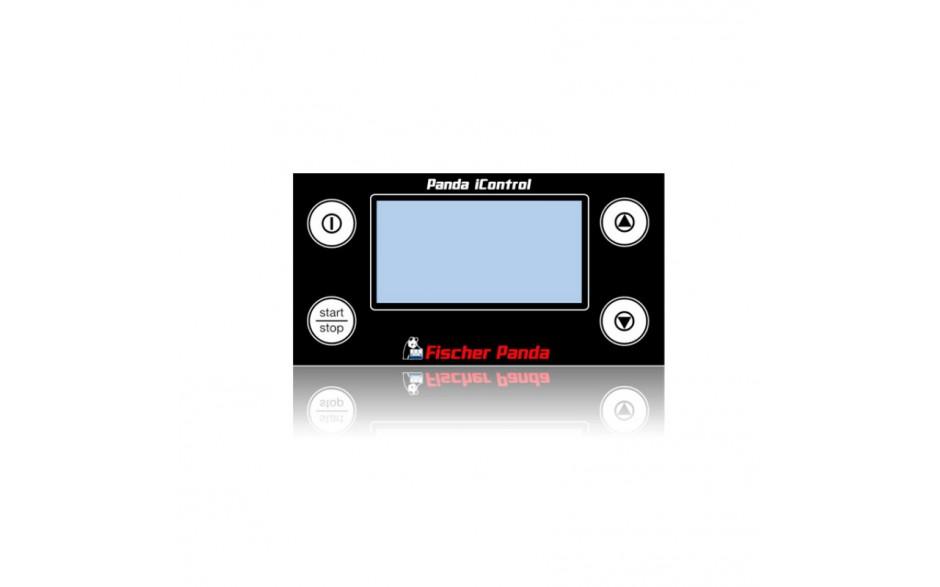 Panel de control remoto esclavo iControl2, negro