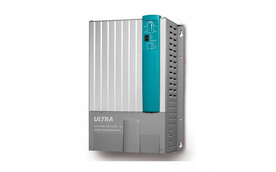 38023500 Mass Combi Ultra 24/3500-100 combinación de inversor y cargador con sistema de transferencia  inteligente, regulador de carga solar MPPT  y segundo cargador independiente,integrado de forma compacta en una unidad
