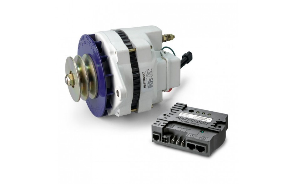 48624110 Alternador 24/110 MB con regulador de carga Alpha Pro III,