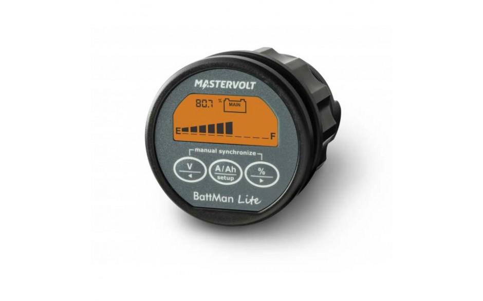 BattMan Lite, panel de monitorización de baterías 12/24VCC