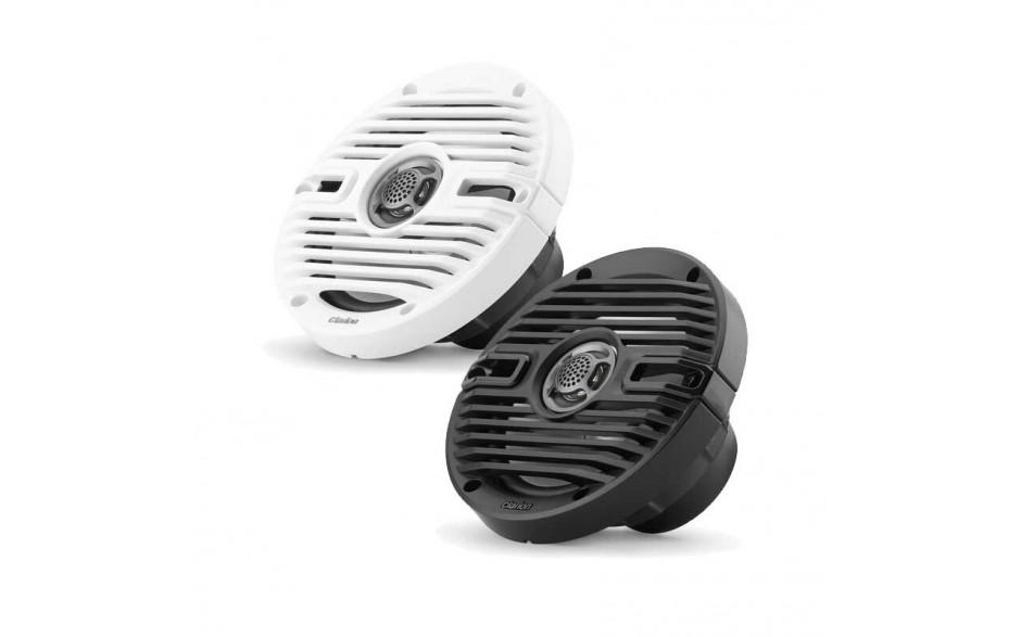 """92609 - CMS-651-CWB, Altavoces 6.5"""" coaxiales con rejillas clásicas en blanco y negro"""