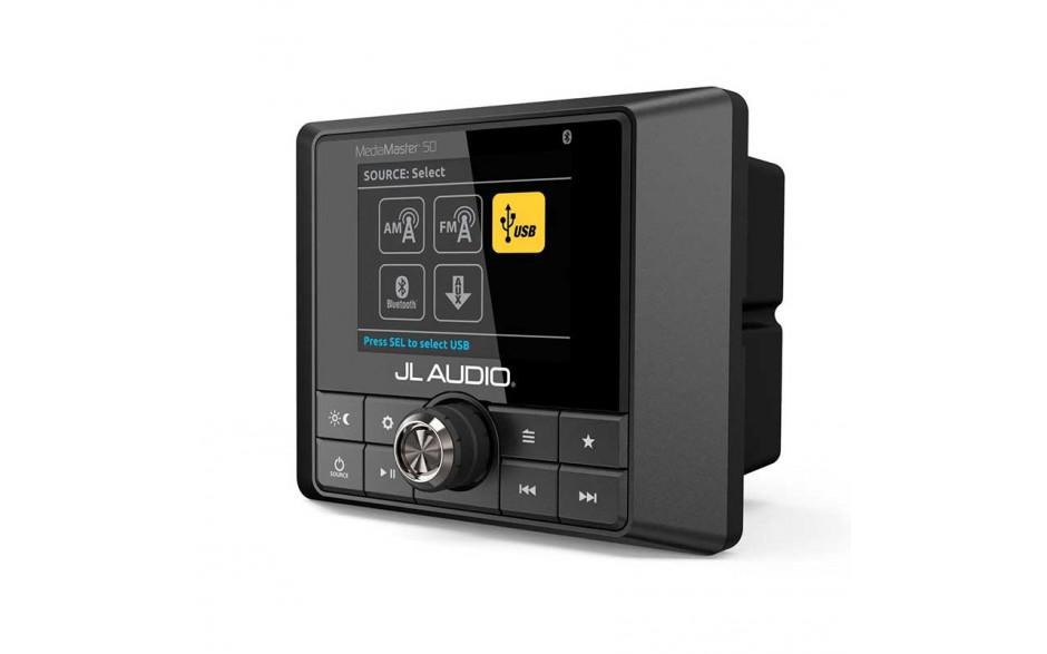 MM50, MediaMaster - Unidad Fuente estanca con display LCD color, 25Wx4 @ 4Ω