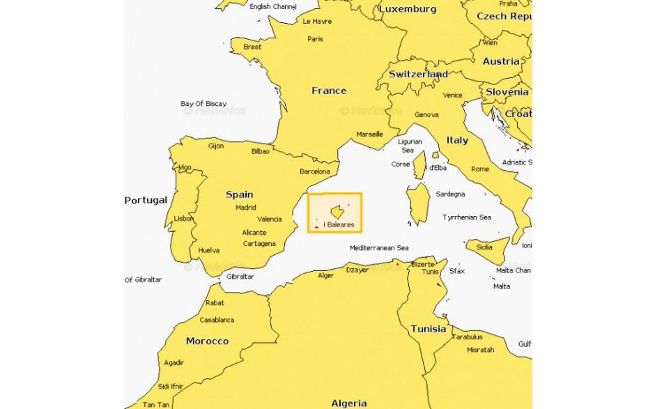 5G356S2 - MSD - Navionics+ Small - Mallorca y Menorca