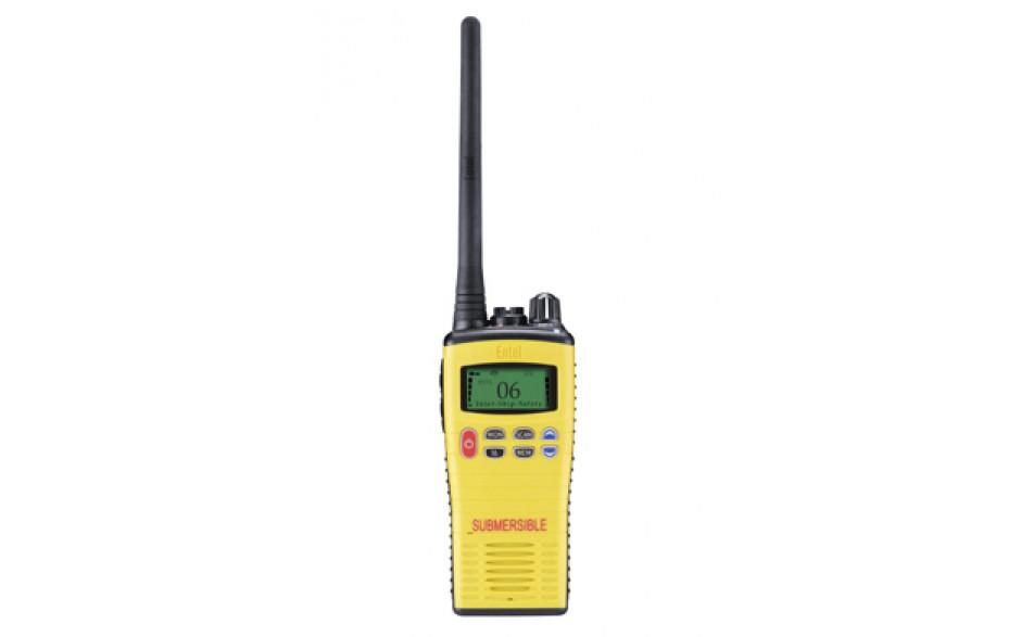 HT649P2 Radioteléfono VHF portátil sumergible. Obligatorio para barcos de recreo que naveguen por la Zona 1 y Zona 2, incluso las que lo hagan por la Zona 5 y no lleven instalado un VHF fijo