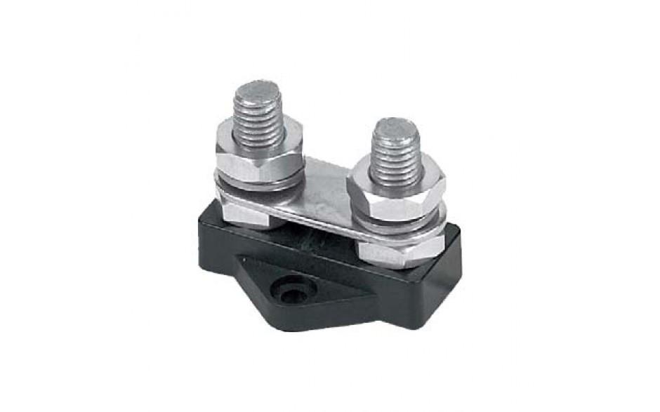 Tornillo aislado de 10mm, largos, 2 tornillos interconectados, negro