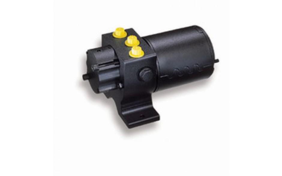 M81121 Unidad hidráulica Tipo 2, 12V. Adecuada para pistones hidráulicos de 230 cc a 350 cc de volumen.