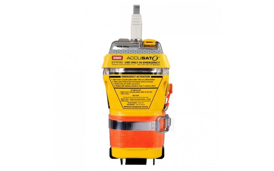 MT603GINT Radiobaliza MT603G, activación manual/agua - SIN PROGRAMAR. Proporciona a las autoridades de rescate su ubicación precisa en el momento de una emergencia.