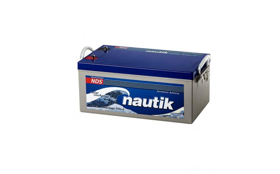 NTK12-250 Batería AGM serie Nautik, 12V 80Ah, totalmente estanca y libre de mantenimiento.