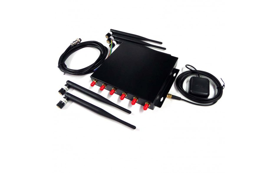 ROUT003W Azimut Wifi Serie 3 - Vista de los componentes