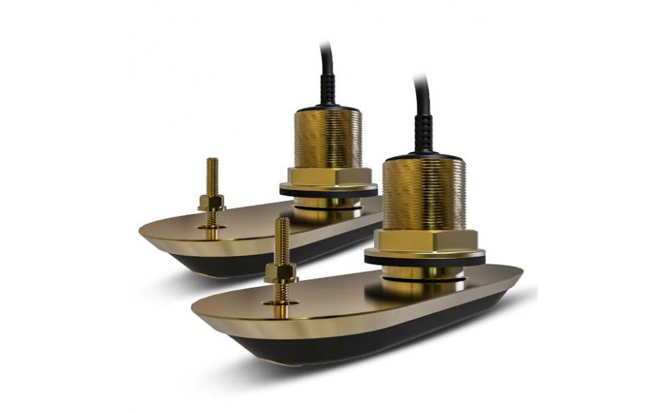 Pack transductores RV-220 RealVision 3D, bronce, pasacascos, babor/estribor