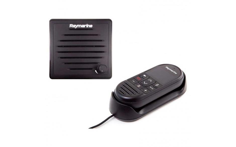 T70434 Pack de segunda estación inalámbrica para Ray90. Pack comouesto por un microteléfono RayMic inalámbrico con base  y un altavoz pasivo.