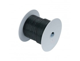Cable estañado 8 mm2, 7.5 metros, negro