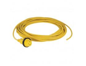 Cable eléctrico con conector alimentación, 250V/50Hz (10 m.)