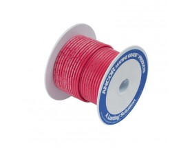Cable estañado 1 mm2, 7.5 metros, rojo
