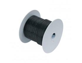 Cable de batería estañado 53mm2, 15 metros, negro