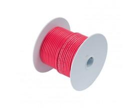 Cable de batería estañado 53mm2, 15 metros, rojo