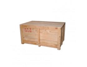 120101570 Caja fabricada en madera para transportar hasta 12 vasos de gel, vista en perspectiva lateral (imagen genérica)