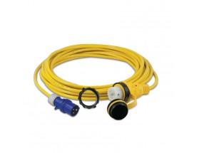 Cable eléctrico con conector alimentación, 250V/50Hz (15 m.)