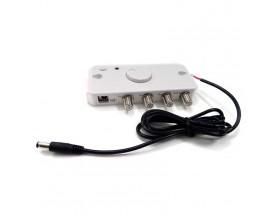 Amplificador 2J para 2J9438; Salidas 2xTV + 1xFM