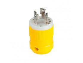Enchufe 30A 125V 2P3W (L5-30P) resistente a la corrosión