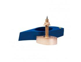 B265LH, Transductor prof/temp Chirp pasacascos bronce, 1KW 42-65/130-210kHz M&M