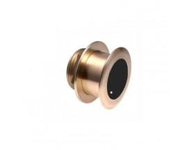 B175M , Transductor prof/temp Chirp pasacascos bronce 0º, 1KW 85-135kHz M&M