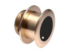 B175M , Transductor prof/temp Chirp pasacascos bronce 12º, 1KW 85-135kHz M&M