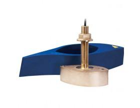 B275LH-W, Transductor prof/temp Chirp pasacascos bronce, 1KW 42-65/150-250kHz M&M