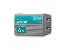 43310600 Cargador de baterías EasyCharge 6A-1 salida. Pueden cargar baterías de terminal húmedo, AGM y Gel, con una entrada universal para 120-230V que posibilita el uso del sistema en cualquier lugar del mundo.