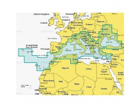 43XG - MSD - Navionics+ XL9 - Mar Mediterráneo y Mar Negro