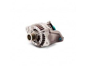 46228082 Alternador de 24V Alpha Compact 28 / 80 VP y polea. Los alternadores Alpha Compact están optimizados para entregar de manera continua una salida de alta potencia para aplicaciones de almacenamiento de energía.
