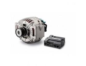 46614200 Los alternadores Alpha Compact ofrecen una elevada potencia de salida continua en aplicaciones de almacenamiento de energía. Junto al regulador Alpha Pro, crean una solución de carga de alto rendimiento, apta para todo tipo de baterías. Alternado