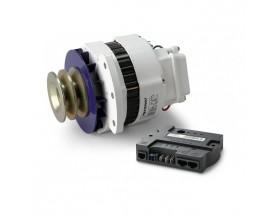 48612090 Alternador 12V/90A y regulador Alpha Pro MB. Esta combinación se ha diseñado específicamente para la carga de las baterías, y le permitirá cargar más rápidamente las baterías de su vehículo o embarcación.
