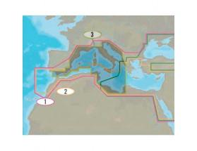 Cartografía C-MAP 4D MAX+ Wide - Costas del Suroeste de Europa