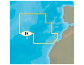 Cartografía C-MAP 4D MAX+ Local - Madeira, Azores y Canarias