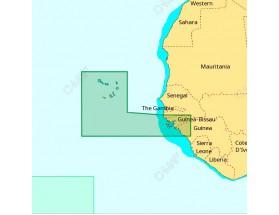 AF-D214 - C-MAP 4D MAX+ Local - Cabo Verde y Guinea Bissau