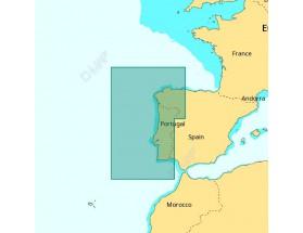EW-D135 - C-MAP 4D MAX+ Local - Costas de Portugal y Galicia
