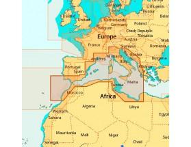 EM-D076 - C-MAP 4D MAX+ Wide - Costas del Suroeste de Europa