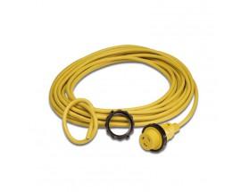 Cable eléctrico de tierra 16A/230V con conector macho- 50ft