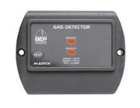 600-GD Detector de gas Contour Matrix, con señalización luminosa. Vista frontal